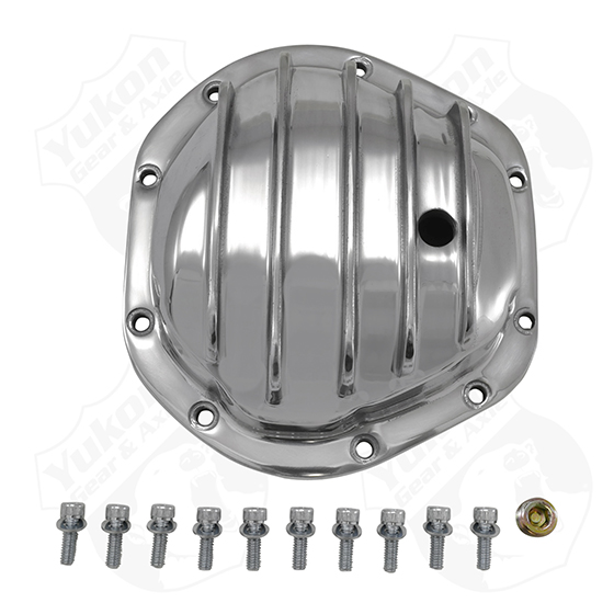 Polished Aluminum Replacement Cover For Dana 44 Yukon Gear